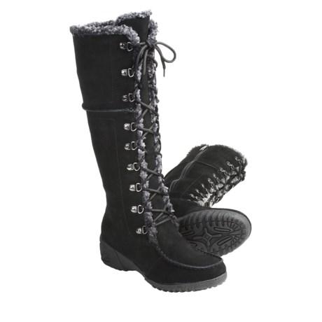 Khombu Saturn Lace Winter Boots (For Women)