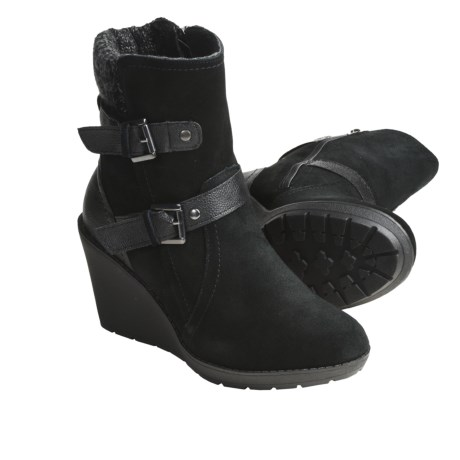 Khombu Stroll Leather Shoes - Insulated (For Women)