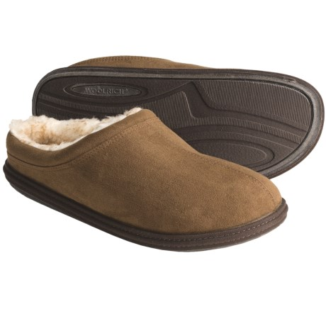 Woolrich Ember Slippers - Fleece Lining (For Men)