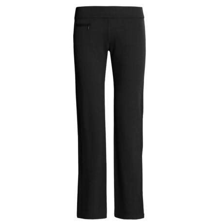 Pacadudz Alpaca-Rich Pants - Straight Leg, Low Rise (For Women)