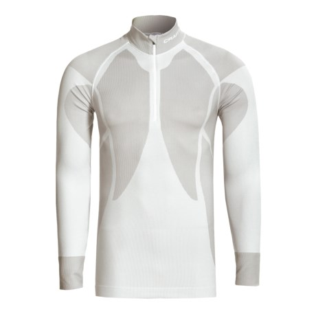 Craft Sportswear Pro Warm Base Layer Top - Zip Neck, Lightweight, Long Sleeve (For Men)