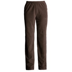Easy Wear Stretch Pull-On Cord Pants (For Women)