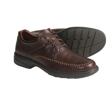 Johnston & Murphy Maben Moc Toe Shoes - Leather (For Men)