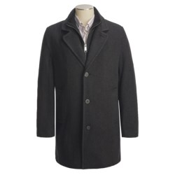 Marc New York by Andrew Marc Top Coat - Wool Twill (For Men)