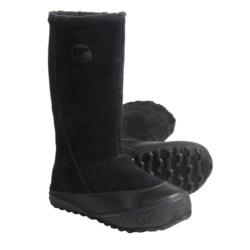 Sorel MacKenzie Slip Boots - Tall, Fleece Lined (For Women)