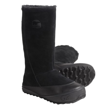 Sorel MacKenzie Slip Boots - Tall, Fleece Lined (For Women)