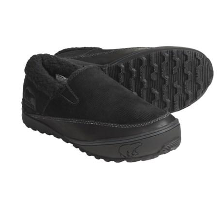 Sorel MacKenzie Slip Shoes - Leather, Slip-Ons (For Women)