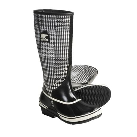 Sorel lington TXT Boots - Waterproof Rubber (For Women)