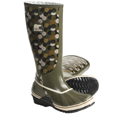 Sorel Sorellington Graphic Boots - Waterproof Rubber (For Women)