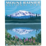 Portfolio Arts Group Mount Rainier National Park Print - 16x20""