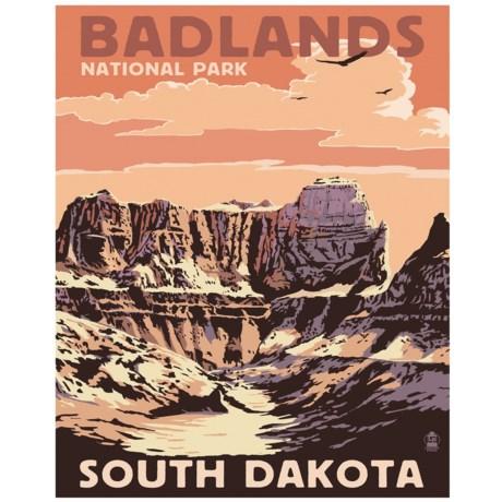 "Portfolio Arts Group Badlands II National Park Print - 16x20"""