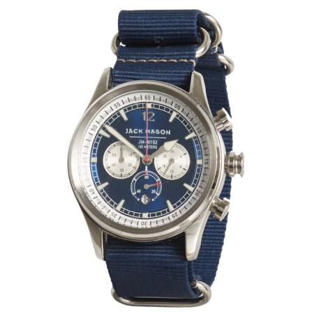 Jack Mason Nautical Collection Chronograph Watch - Nylon Strap
