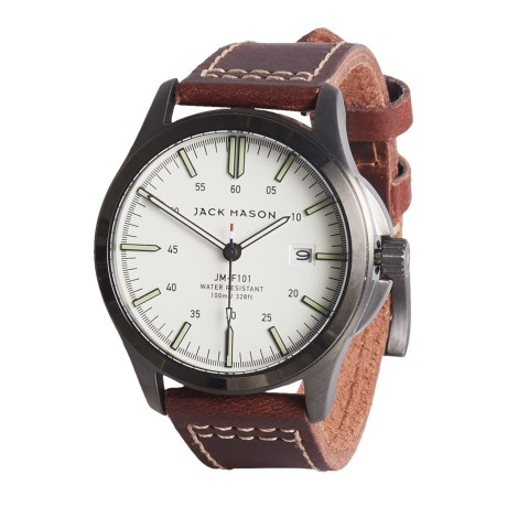 Jack Mason Field Collection Watch - Leather Strap
