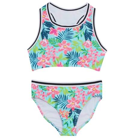 Jantzen Foliage Print Bikini - UPF 50+ (For Big Girls)