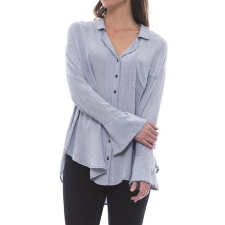 Free People Magic Breeze Button-Down Shirt - Long Sleeve (For Women)