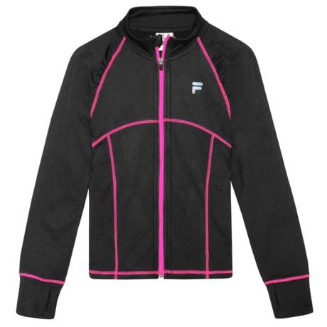 Fila Training Jacket (For Girls)