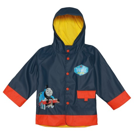 Western Chief Thomas Blue Engine Rain Jacket (For Toddler and Little Boys)