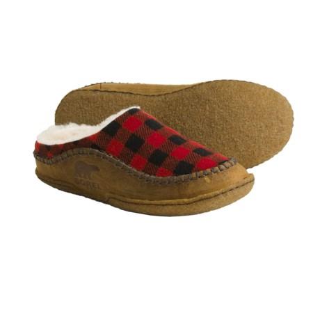 Sorel Falcon Ridge Plaid Slippers (For Men)