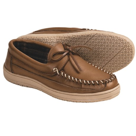 Florsheim Elk Leather Slippers (For Men)