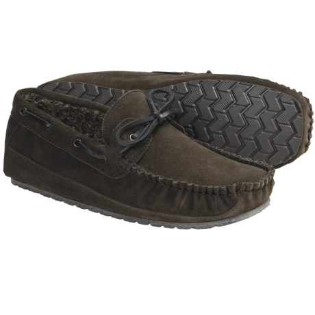 Florsheim Suede Moccasin Slippers (For Men)