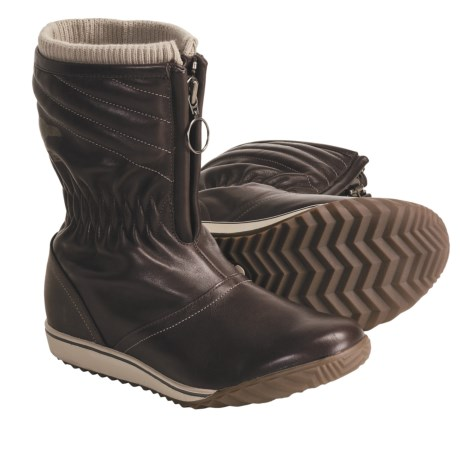 Sorel Firenzy Breve Snow Boots - Leather (For Women)