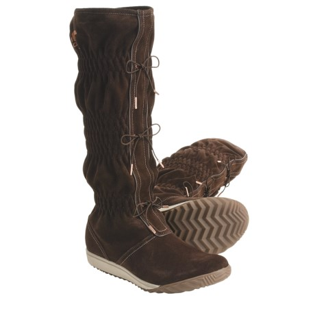 Sorel Firenzy Suede Tall Boots - Wool Lined (For Women)