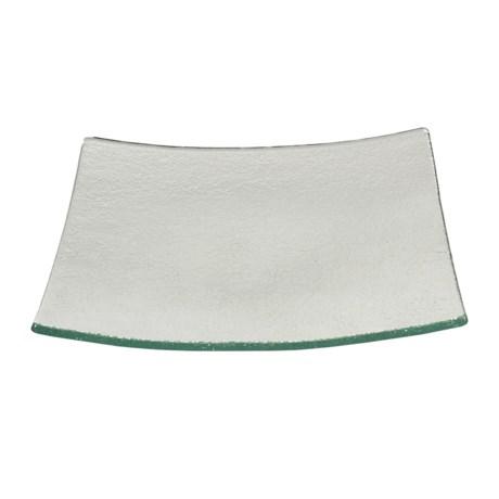 Revol Dody Square Flared Glass Plate - Small