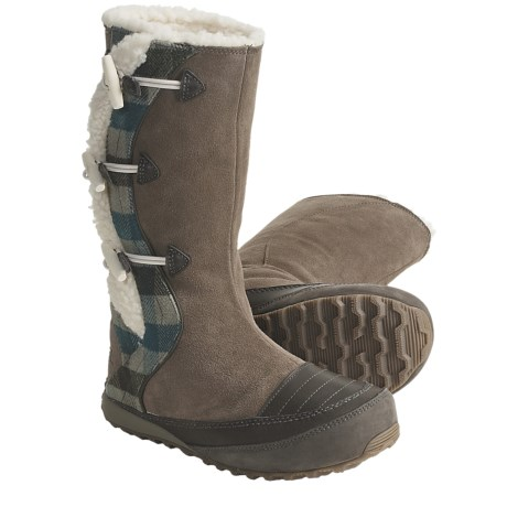 Sorel Suka II Leather Boots - Fleece-Lined (For Women)