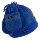 Columbia Sportswear Frosty Fleece Hat and Mittens Set (For Toddlers)