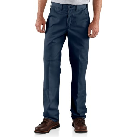Carhartt Twill Double-Knee Work Pants - Factory Seconds (For Men)