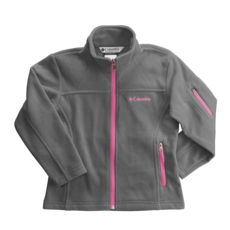 Columbia Sportswear Fast Trek Jacket - Microfleece (For Little Girls)