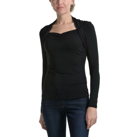 Apropos Mandy Stretch Jersey Shirt - Long Sleeve (For Women)
