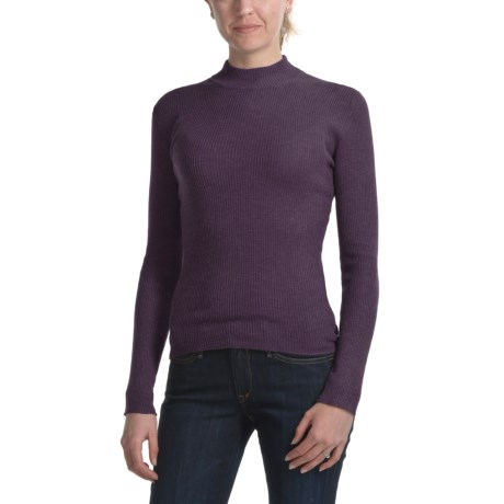 Apropos Prima Mock Neck Shirt - Long Sleeve (For Women)
