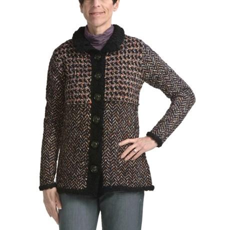 Apropos Hudson Tweed Sweater (For Women)