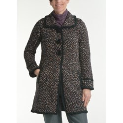 Nomadic Traders Apropos Chelsea Tweed Sweater Coat (For Women)