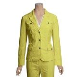 Linea Blu Stretch Cotton Jacket (For Women)