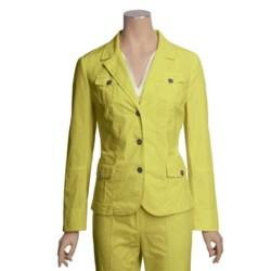 Linea Blu Stretch Cotton Jacket (For Women)