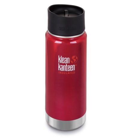 Klean Kanteen Vacuum-Insulated Stainless Steel Travel Mug - 16 oz., BPA-Free