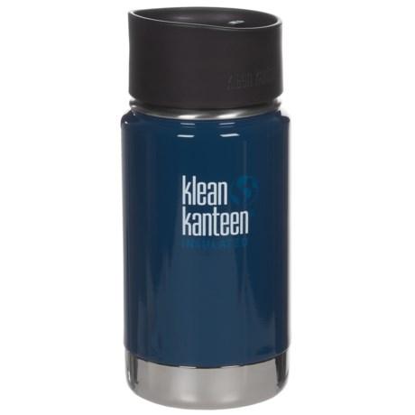 Klean Kanteen Vacuum-Insulated Stainless Steel Travel Mug - 12 oz., BPA-Free