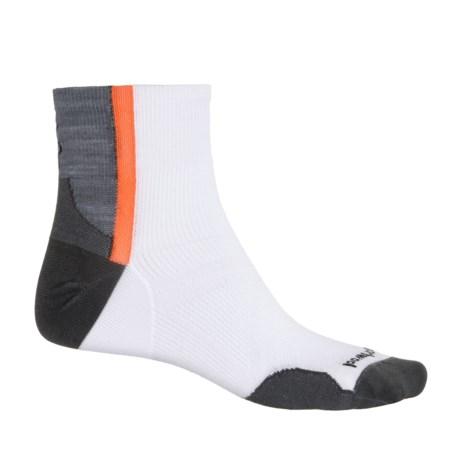 SmartWool PhD Cycle Ultralight Mini Cycling Socks - Quarter Crew (For Men and Women)