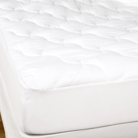 West Pacific Home Fashions West Pacific Home Basket Weave Cool & Comfortable Mattress Pad - King, 220TC