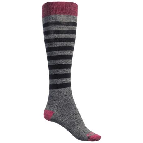 SmartWool Premium Gypsum Socks - Merino Wool, Over the Calf (For Women)
