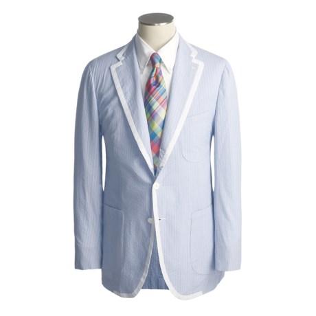 Isaia Stripe Sport Coat - Cotton (For Men)