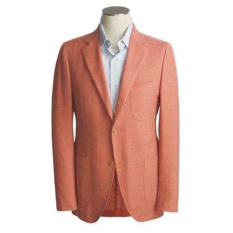 Isaia Cotton-Silk Blazer (For Men)