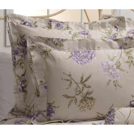 Christy Botanical Garden Pillow Sham - Euro, 300TC Cotton
