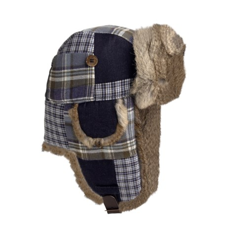 Mad Bomber® Patchwork Aviator Hat (For Men and Women)