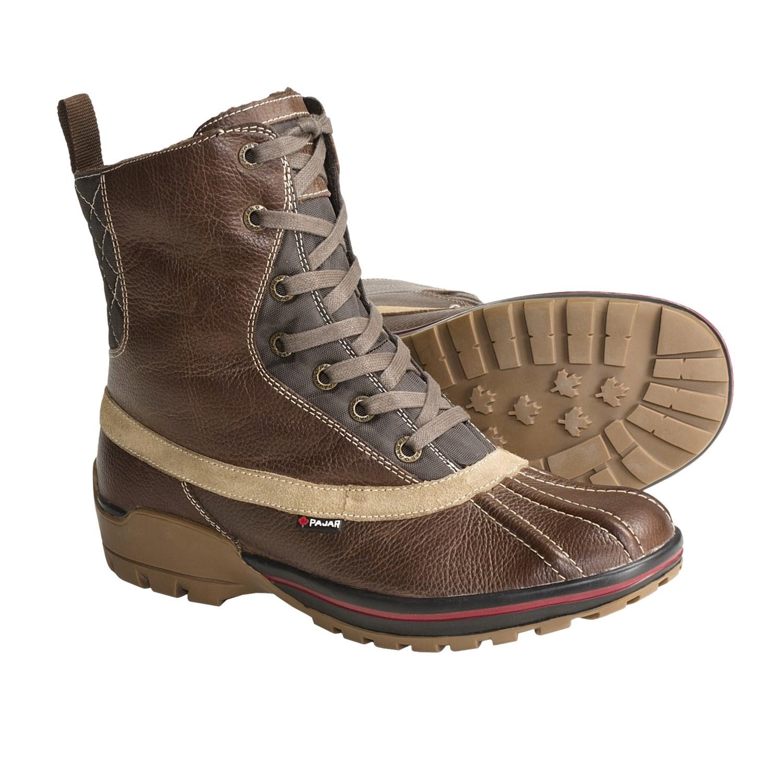 Pajar Boheme Leather Winter Boots (For Men) 3714J - Save 42%