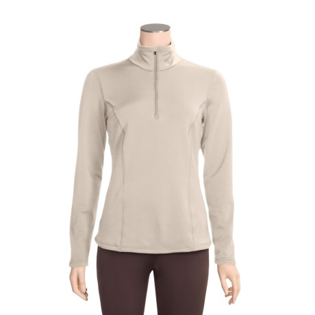 Snow Angel Chamonix Base Layer Top - Zip Neck, Long Sleeve  (For Women)