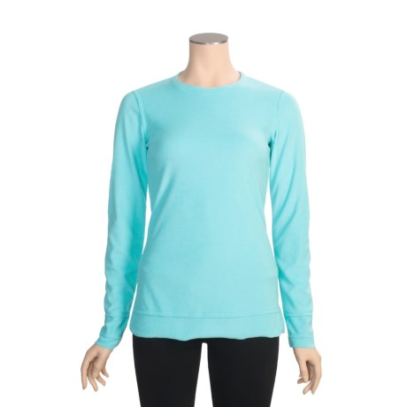 Snow Angel Bunnie Lux Base Layer Top - Long Sleeve (For Women)