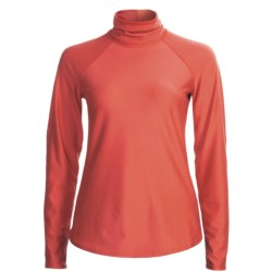 Snow Angel Doeskin Base Layer Turtleneck - Midweight, Long Sleeve (For Women)